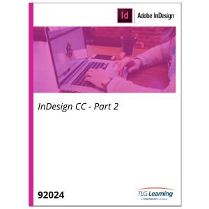 InDesign CC - Part 2