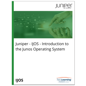 Juniper - IJOS - Introduction to the Junos Operating System