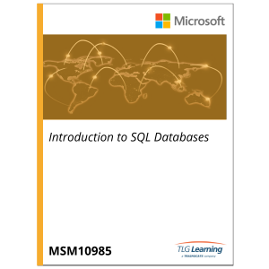 10985 - Introduction to SQL Databases