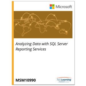 10990 - Analyzing Data with SQL Server Reporting Services