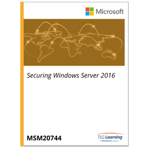 20744 - Securing Windows Server 2016