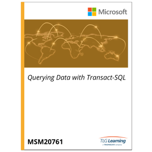 20761 - Querying Data with Transact-SQL