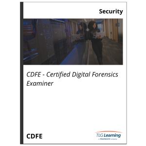 CDFE - Certified Digital Forensics Examiner