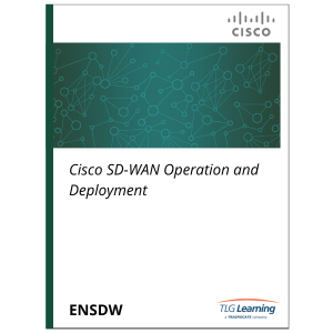 Cisco - ENSDW - Cisco SD-WAN Operation and Deployment