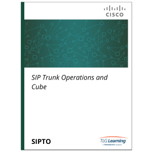 Cisco - SIPTO - SIP Trunk Operations and CUBE