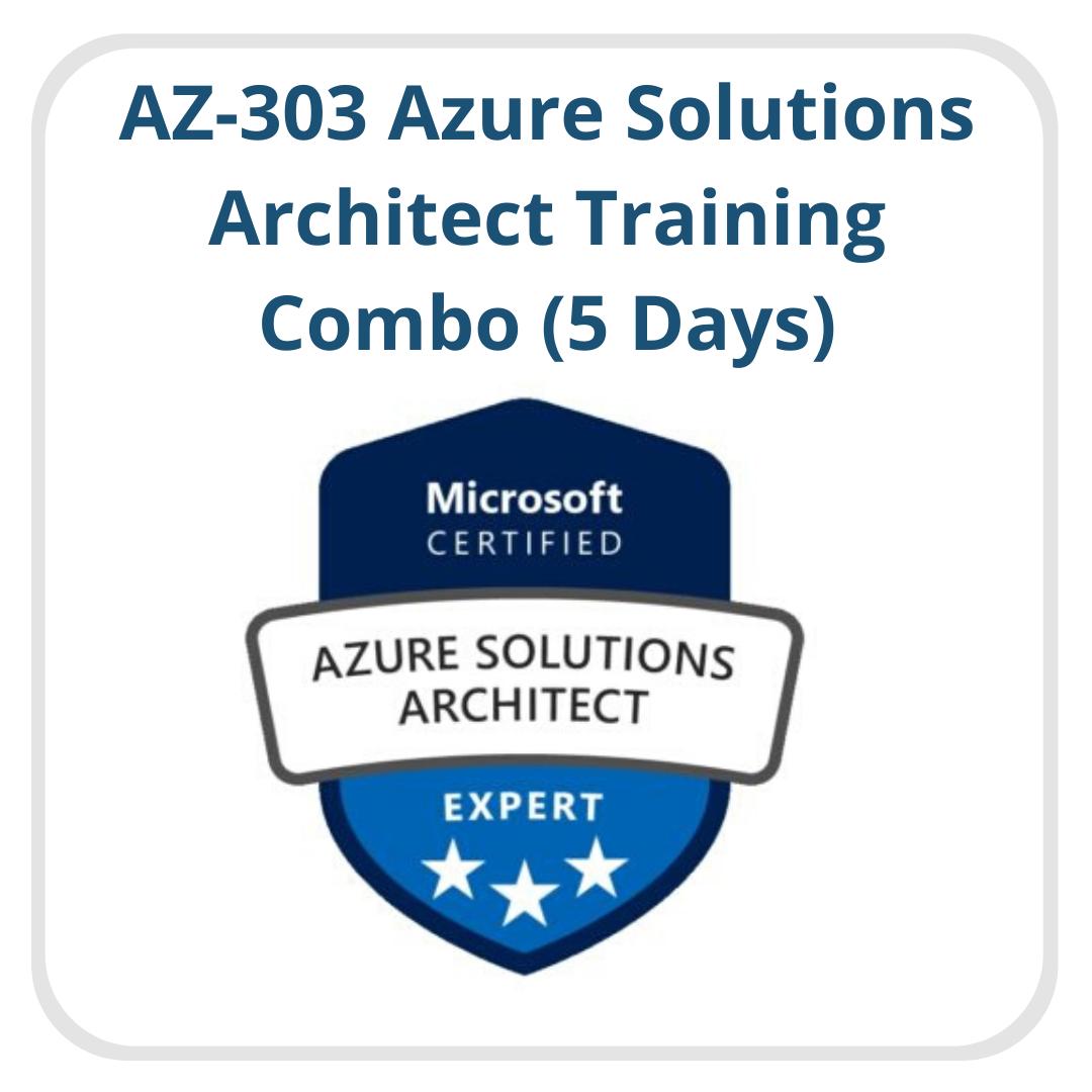 AZ-303 Azure Solutions Architect Trainings Combo