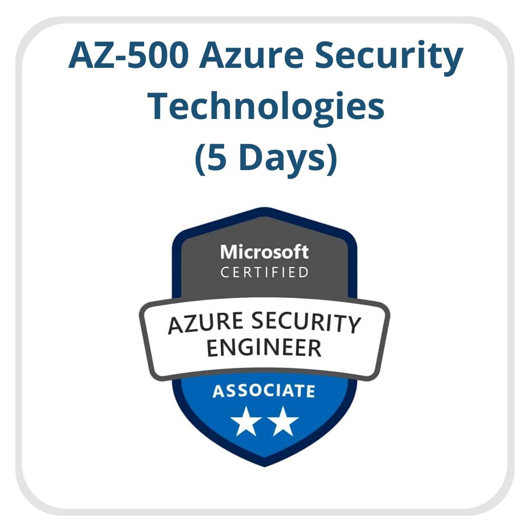 AZ-500 Azure Security Technologies