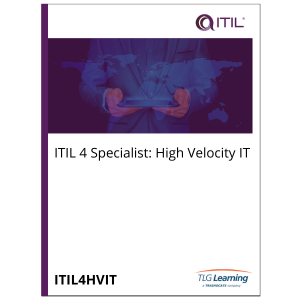 ITIL® 4 Specialist: High Velocity IT