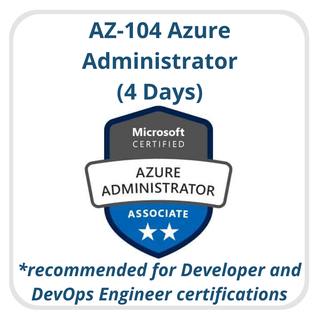 Azure Admin Recommended Dev
