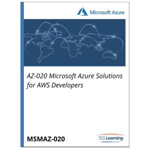 AZ-020 Microsoft Azure Solutions for AWS Developers
