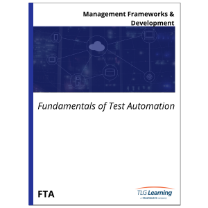 Fundamentals of Test Automation
