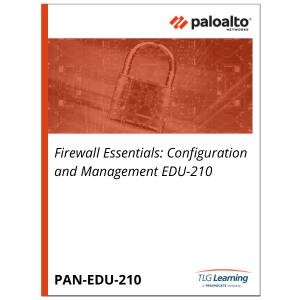 Palo Alto Networks Firewall Essentials: Configuration and Management EDU-210