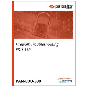 Palo Alto Networks Firewall: Troubleshooting EDU-330