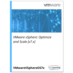 VMware vSphere: Optimize and Scale [v7.x]