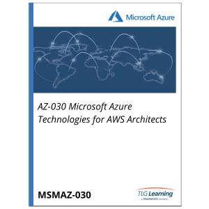 AZ-030 Microsoft Azure Technologies for AWS Architects