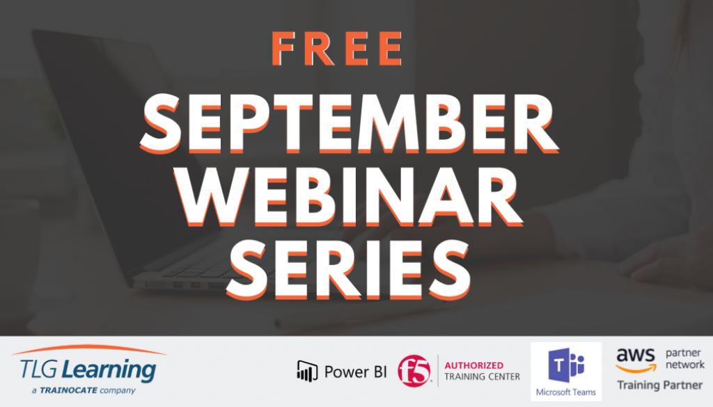 Sept Webinar Series