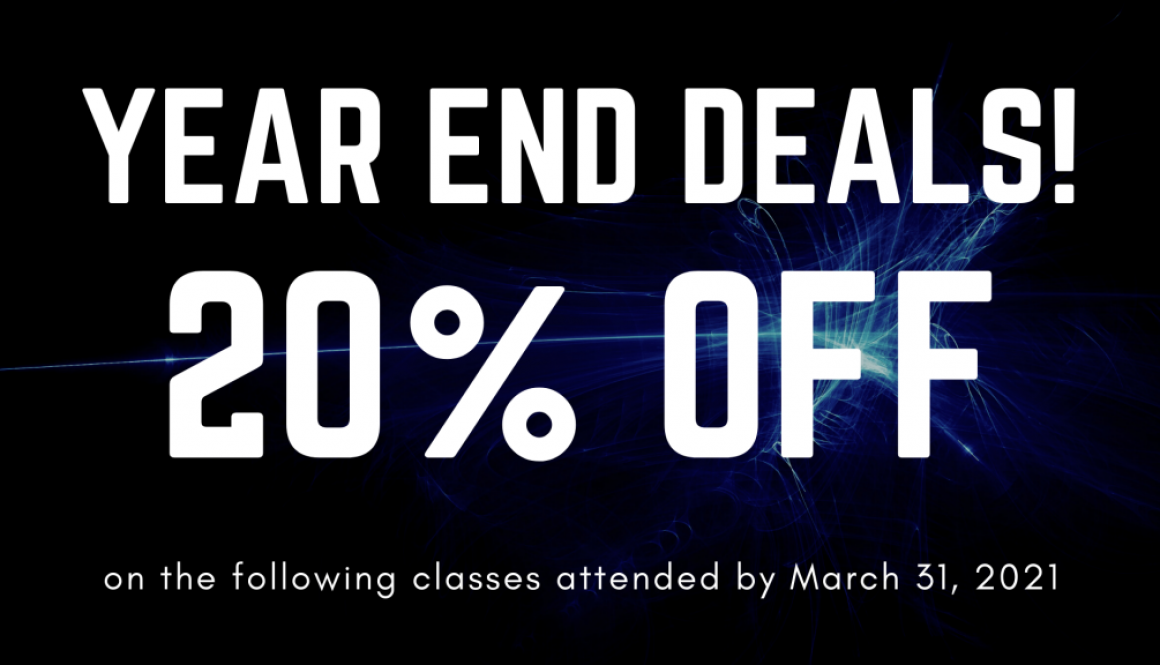 End of Year Deal