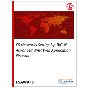 F5 Networks Setting Up BIG-IP Advanced WAF: Web Application Firewall